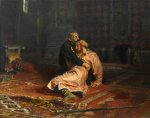 Ilya Repin - Ivan the Terrible and His Son Ivan on 16th November 1581 (1883 - 1885).jpg