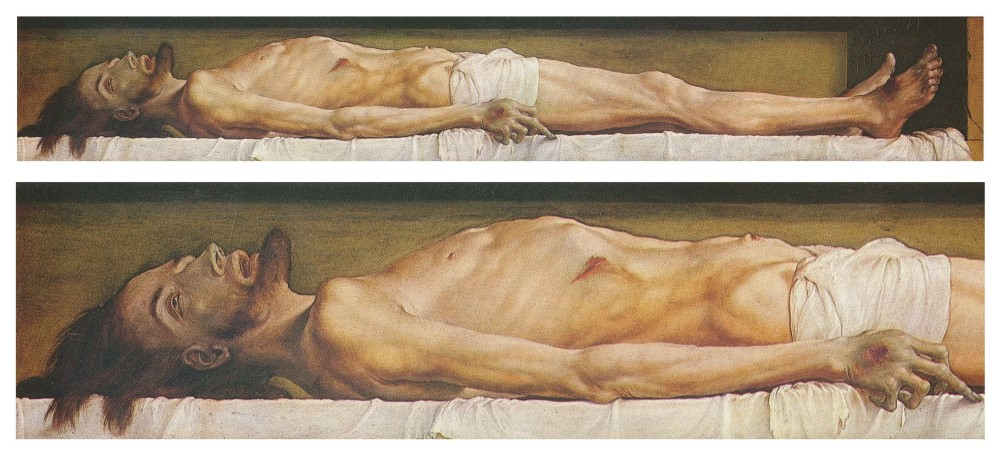 Hans Holbein the Younger - The Body of the Dead Christ in the Tomb (1520 - 1522).jpg